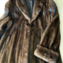 Abrigo largo de visón 1