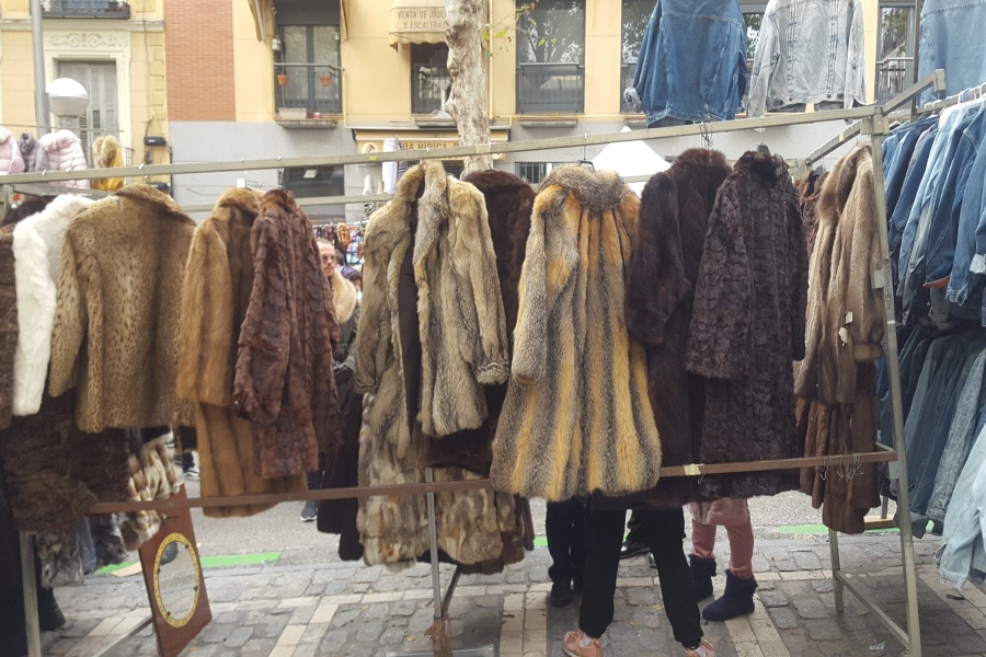 Peleterías compra venta abrigos de piel de segunda mano 1