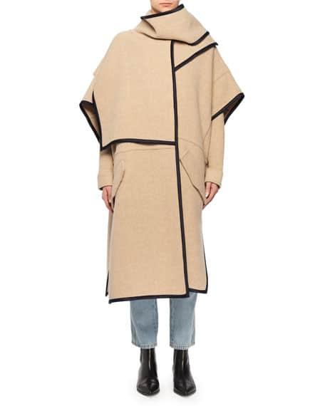 abrigo de lana victoria beckham