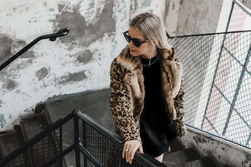 abrigos de piel mujer