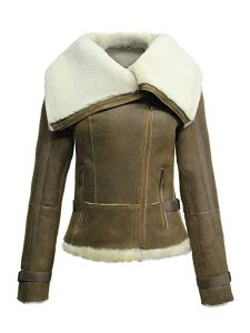chaqueta de aviador mujer