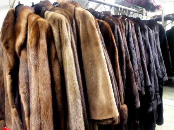 peleterias que compran abrigos de piel