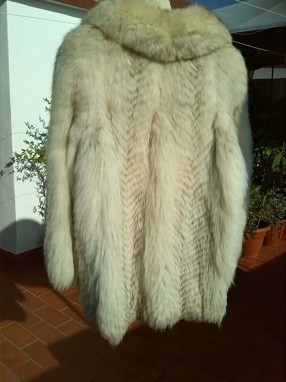 Chaquetón zorro blanco 1