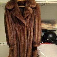 Magnífico abrigo de visón
