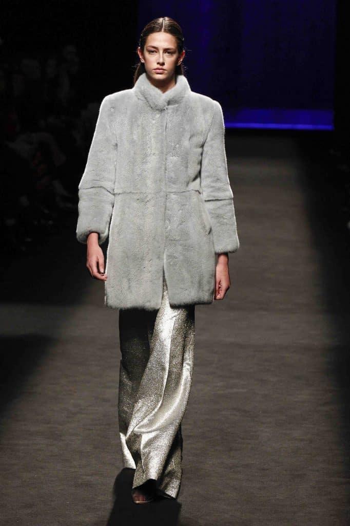 abrigo piel natural Inuñez
