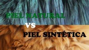 diferencias entre la piel natural y la piel sintetica
